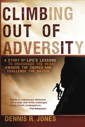 "Book, ""Climbing Out of Adversity"""